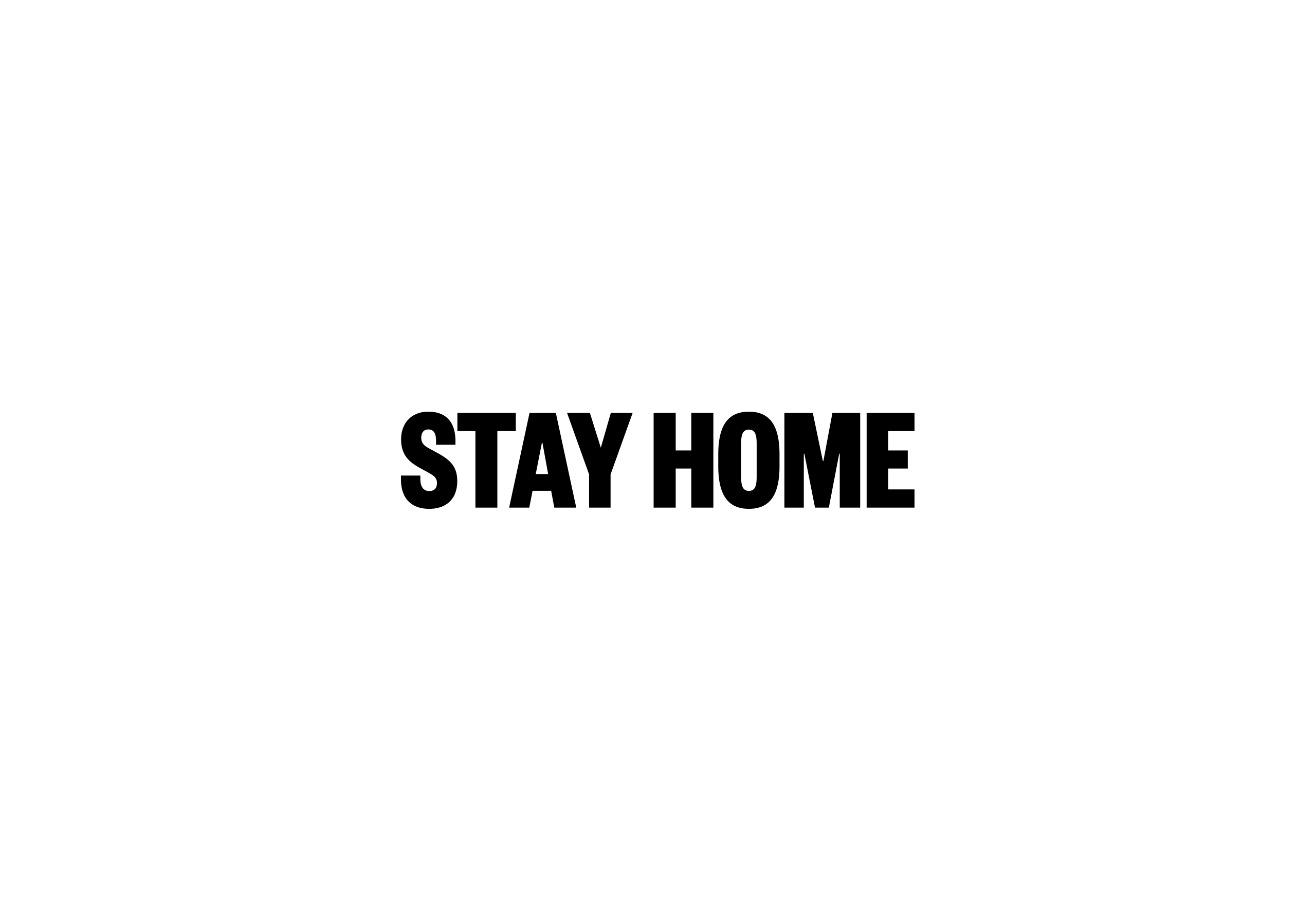 Contra Studio Stay Home #stayhome Poster Graphic design Disseny gràfic