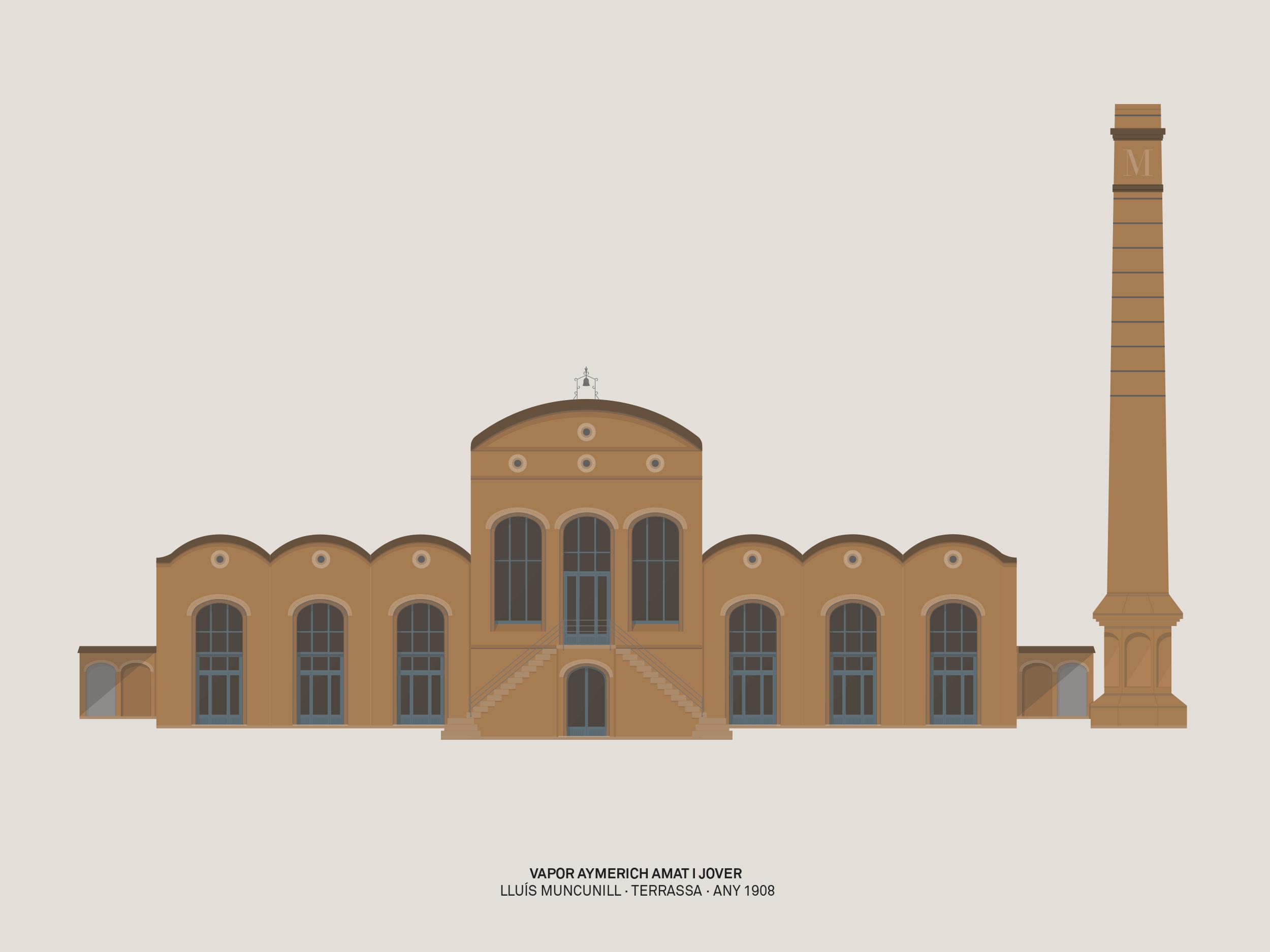 Contra Studio Graphic design Disseny gràfic Terrassa Arquitectura Patrimoni Modernisme Il·lustració Vallès Occidental Barcelona