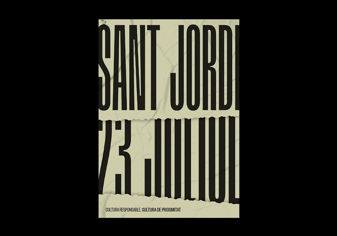 Contra Studio Sant Jordi Sempre és 23 Poster Graphic design Disseny gràfic